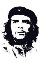 Pop Art Che Guevara White inch Poster 24x36 inch