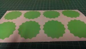 45mm Serrated Certificate Wafer Seals StyleC Awards Stickers Peel & Stick