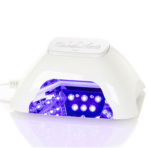 10W-Pearl White LED Nail Dryer lamp Curing ANY gel polish in just 30-45 seconds