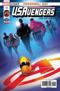 U.S.Avengers (2017) #'s 1 2 3 7 8 11 12 VF+ Lot of 7 Books