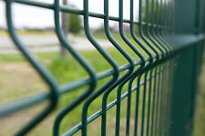 Stabgitterzaun Mat Fence Fence Fence 500m 153cm 3D 3mm Green Best Price