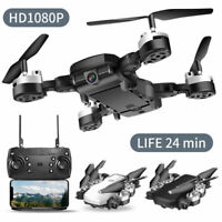 HJHRC HJ28 Foldable RC Quadcopter GPS Drone with 1080P WIFI FPV HD Camera W6H5