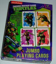 TEENAGE MUTANT NINJA TURTLE JUMBO PLAYING CARDS