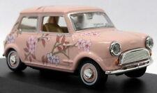Oxford Diecast 1/43 Scale MIN014 - Pink Floral Mini Car - M&S Twiggy Advert
