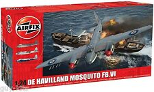Bombardier Britannique DE HAVILLAND MOSQUITO FB.VI  - Kit AIRFIX 1/24 n° 25001A