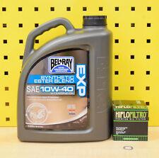 HONDA CBR 1100XX 4l FILTRO DE ACEITE 97-06 BEL RAY EXP 10w40 SC35 MOTOR Mirlo