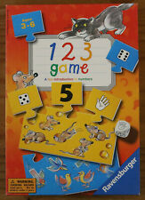 123 Game - Fun Introduction to Numbers - Ravensburger 2002