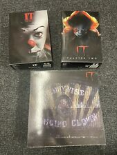 NECA IT Pennywise Dancing Clown Reel Toys Action Figure, And Chapter 1 & 2 Lot