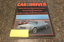 CAR AND  DRIVER SEVILLE:CADILLAC ROLLS WITH THE PUNCHES #1 JULY 1975 VOL.21