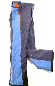 Helly Hansen Boys Size 14/164 cm Blue/Orange Adjustable Snow Ski Ride Sled Pants