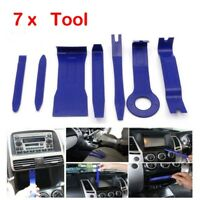 7x Car Radio Door Panel Trace Clip Trim Remova Audio Dash Repair Pry Tool Kits