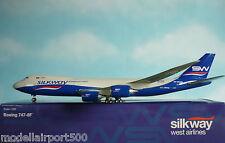 Hogan Wings 1:200 Boeing 747-8F SILKWAY Cargo 4K-SW881 + Herpa Wings Katalog