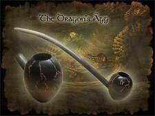 MacQueen Dragon's Agg Egg Churchwarden Tobacco Pipe Smoke Rings Birch Wood
