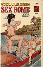 Vintage Sleaze PB Paperback - Celluloid Sex Bomb ENEG Gene Bilbrew Satan Press