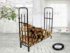 FIREPLACE Firewood Log Storage Rack / Wood Rack / Log Holder PORTLAND