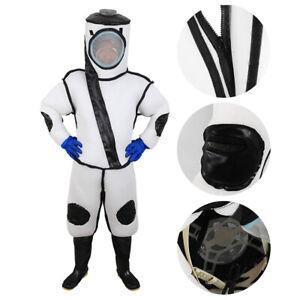 Beekeeping Suit Beekeeper Full Body Bee Suit Veil Hood Gloves Fan Anti-bee Tools