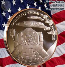 Donald J. Trump's Space Force 1 oz .999 Copper Round