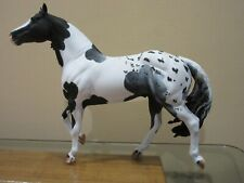 CM Traditional Smart Chic Olena Blue Roan Pinto and Appaloosa Horse-Breyer !