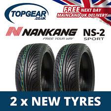 245/40/17 Nankang ns2 91v XL pneumatici x2 (COPPIA) 2454017-x2 NUOVA COLLEZIONE 17 pollici pneumatici