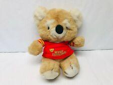 Kirby Koala Bear Plush, Stuffed Animal, Gibson Greetings Plushie 1980s Toys