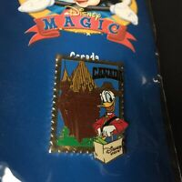 12 Months of Magic - Disney Store Country Stamp Canada Donald Disney Pin 11856