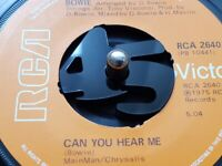 Acrylic 5mm thick ''45'' shaped 45 rpm record adaptor for centre spindle