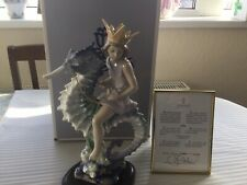 """More details for rare ltd edition lladro figurine """" prince of the sea """" #1821 boxed mint."""