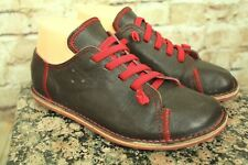 """CAMPER """"PEU"""" 20585-007  WOMEN'S BROWN LEATHER CASUAL SHOES SIZE 38EU/7.5US VGC!!"""