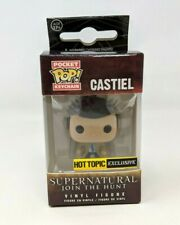 New Funko Pocket Pop Keychain Supernatural Castiel Exclusive Vinyl Figure FP20