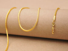 1PCS Wholesale 24 Inch 18K GOLD Filled FOX TAIL Chain Jewelry CHAIN NECKLACE