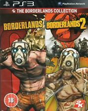 BORDERLANDS COLLECTION: 1 & 2 GAME PS3 (2x Games in 1 Box) ~ NEW / SEALED