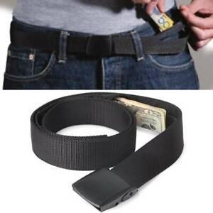 Hidden Money Pouch Travel Security waist wallet Belt Money Pocket Wallet
