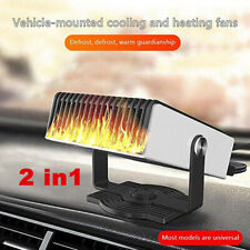 150W Car Portable 2 in1 Heating Cooling Fast Heater Fan Defroster Demister 12V