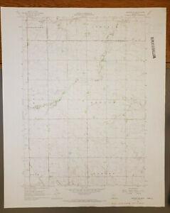 "Sanborn SE, Minnesota Original Vintage 1967 USGS Topo Map 27"" x 22"""