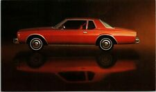 Postcard Chevrolet Car Ad 1977 Chevy Impala Coupe Vintage