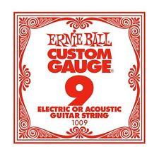 ERNIE Ball Custom Gauge corda di chitarra unica per elettrica/acustica (9)