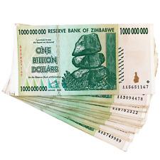 Zimbabwe 1 One Billion Dollar Bill Banknote Paper Money - Pre Trillion Series
