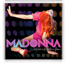 MADONNA - CONFESSIONS ON A DANCE FLOOR LP COVER FRIDGE MAGNET IMAN NEVERA
