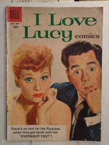 Dell I LOVE LUCY COMICS #20 (1958) Photo Cover