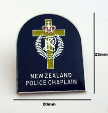 New Zealand Police Chaplain Pin (social)