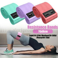 Fabric Resistance Bands Hip Band Loop  Exercise Leg Squat Arms Yoga Fitness  A!