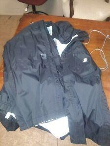 Mens Carhartt Huron Ripstop Jacket Pants Combo Black Medium