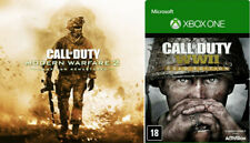 CALL OF DUTY MODERN W.2 + CALL WW2 XBOX ONE (NO CD/NO KEY) LEGGI DESCRIZIONE