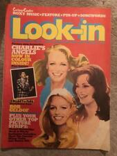 LOOK-IN COMIC 30 19/07/80 CHARLIES ANGELS MORK BATTLESTAR GALACTICA .
