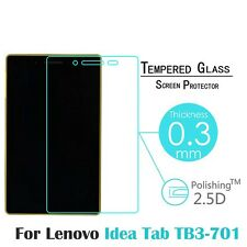 2.5D 9h Front Protective Film for Lenovo Idea Tab TB3-710 7'' Tempered Glass