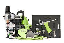 NEW Grex GCK03 Tritium.TG Airbrush Combo Kit TG3 Airbrush w/ AC1810-A Compressor