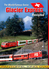 """The World Famous Swiss """"Glacier Express"""" Revisited, Railroad DVD"""