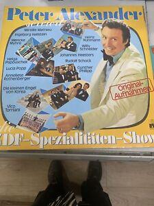 Peter Alexander~ZDF Spezialitäten Show~Original Aufnahmen~Doppel LP