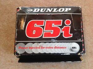 Dunlop 65i box of 12 vintage golf balls