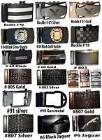 mens belt buckle automatic sliding belt buckle Self-locking belt buckle only